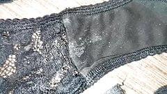Wife's abandoned panties