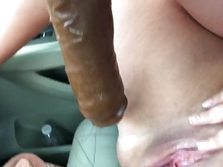 Fucking her pussy in public part two with Shane diesel