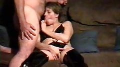Amateur Wife Tracey Sucking Cock