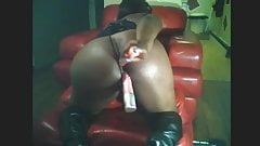 lonley bbw house wife squirting dildo dp 2
