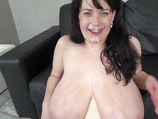 Huge Natural Tits - Fuck Suck and Facial