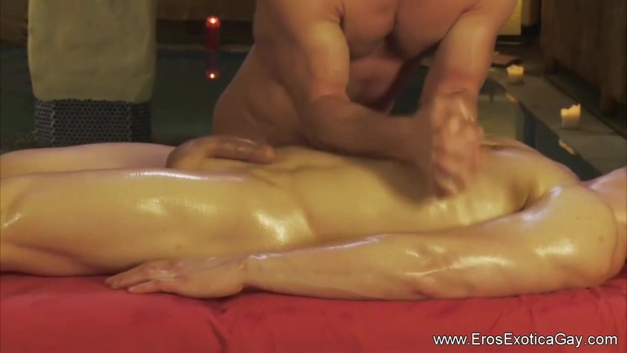 Therapeutic massage For His Drained Genitals