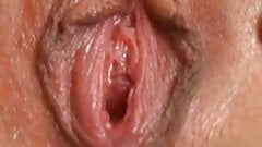 Emily cums in a torrent of pussy juice