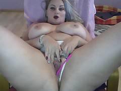 Webcam Hardcore Part 66 - Busty Blonde