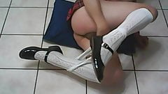 schoolgirl crossdresser