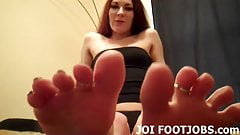I will wiggle my toes for you while you jerk off