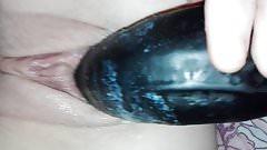 Bug pussy creamy masturbation dildo xxl