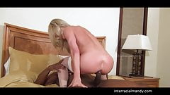 hubby films wife getting bbc in Wet Bed's Thumb