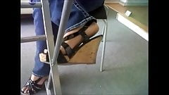 the most pretty girl feet