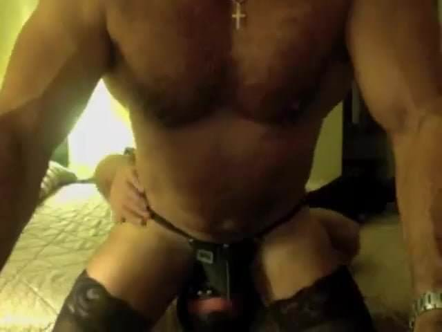 gay muscle porn clip: Muscleslave dildoed, on hotmusclefucker.com