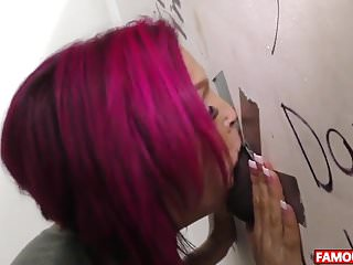 The Famous BBC Glory Hole With Anna Bell Peaks