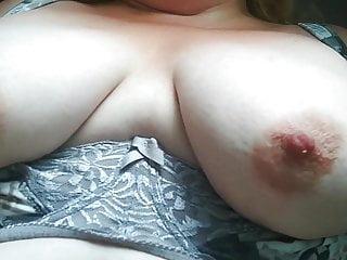 Bouncy boob play