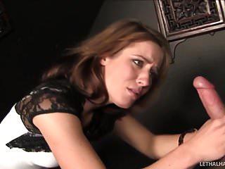 Sexy Teen Sheena Shaw Sucks Big Cock In Church