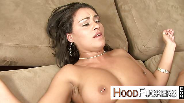 Preview 1 of brunette loves big ghetto cock