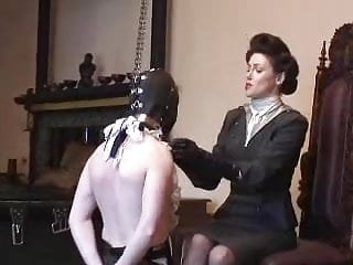 Strict Governess Of The Manor