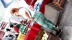 Vendedora en leggins