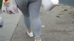 Nice thick ass in see through tights