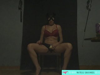 JOI with a fetish mistress with strapon - Vends-ta-culotte