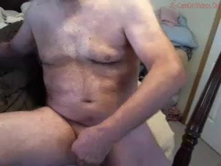 Huge dicked dad wanking 006
