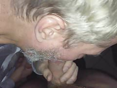 Sucking a horny top twink in a cruising cinema