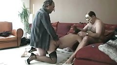 Training his wife to be a slut