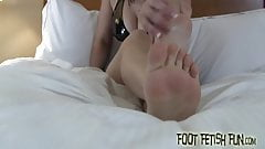 You will love worshiping my sexy little feet's Thumb