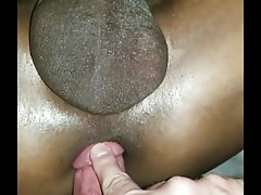 Hot Interracial bareback with Daddy and twink