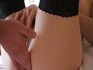 Wife first anal and DP