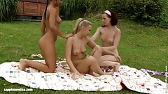 Tania and Kari lesbians filmed by Sapphic Erotica