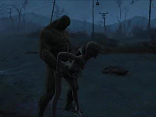 Preview 5 of Fallout 4 Katsu sex adventure chap.5 Supermutant