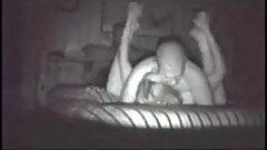 Slut GF Pounded on Nightvision Cam