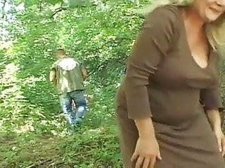 die Hexe im Wald