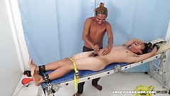 Asian Boy Jojo Bound and Tickled