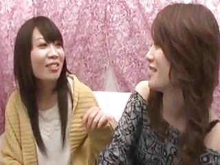 Japanese try lesbian first time 2
