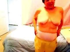 Webcam fun with grandma