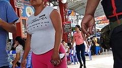 tia culona leggins rosado 1