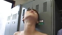 Two hot asian blowjob scenes, swallow uncensored