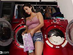 BANG Confessions  Latina Housewife Reena Sky fucks her mover