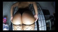 Sexy Booty shake in fishnet by bootytime91