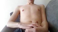 Sweet Boy Cum on his Body