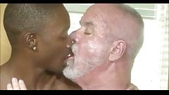 young old interracial