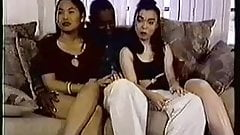 Submissive Oriental Friends Receive A Black Cock