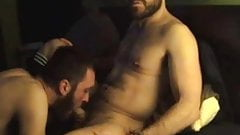 Handsome guy giving a great bj