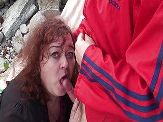 Tranny Granny GrandMa Prostatic Pleasure
