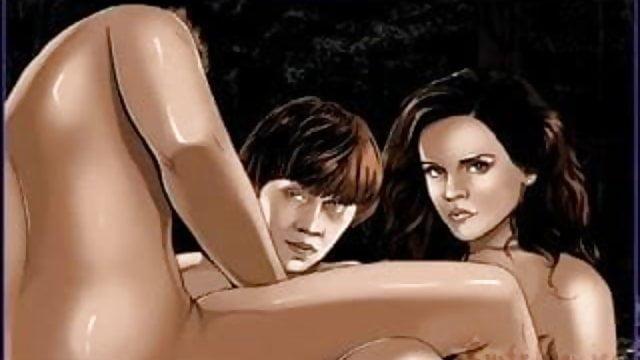 Emma Watson porno fumetti