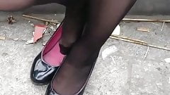 Delicious Candid Nylon Feet 4