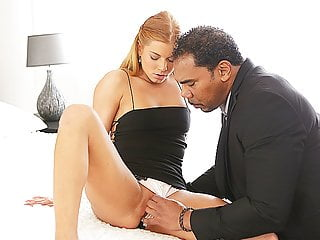 BLACK4K. Serious black gentleman has a huge cock for white..