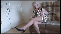 Lovely mature upskirt