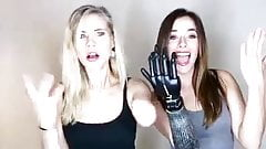 2 girls, 2 hands