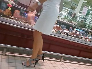 Nice legs and so sexy heels